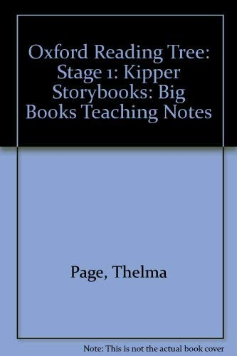 9780198454700: Oxford Reading Tree: Stage 1: Kipper Storybooks: Big Books Teaching Notes