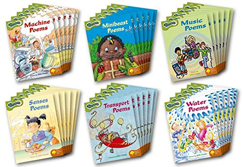 Oxford Reading Tree: Levels 7-8: Glow-worms: Class Pack (36 books, 6 of each title): John Foster