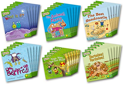Oxford Reading Tree: Level 2: Snapdragons: Class Pack (36 Books, 6 of Each Title) (Paperback): ...