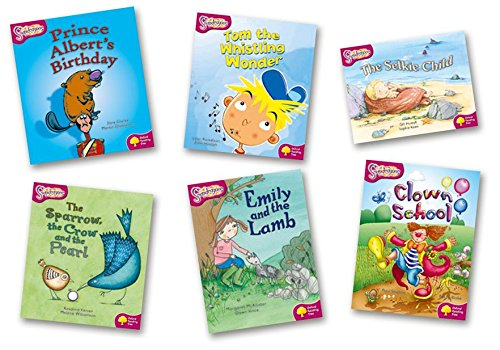 Oxford Reading Tree: Level 10: Snapdragons: Pack (6 books, 1 of each title): Clarke, Jane; Howell, ...