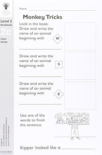 9780198456155: Oxford Reading Tree: Level 2: Workbooks: Workbook 2C (Pack of 30)