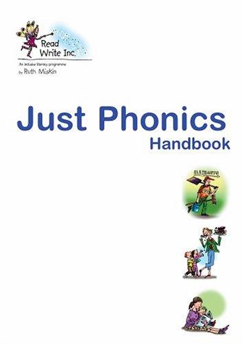 9780198459958: Read Write Inc.: Just Phonics Handbook