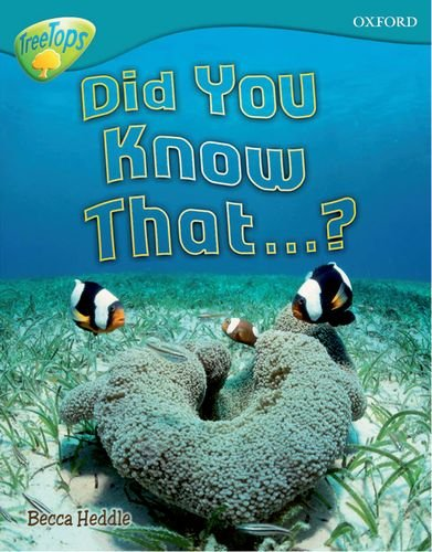 9780198461302: Oxford Reading Tree: Level 9: Treetops Non-Fiction: Did You Know That?