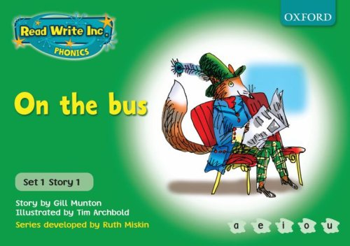 9780198461371: Read Write Inc. Phonics: Green Set 1 Storybooks: On the Bus