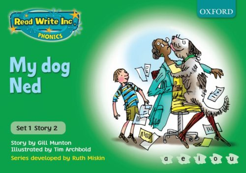 9780198461388: Read Write Inc. Phonics: Green Set 1 Storybooks: My Dog Ned