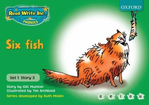 9780198461395: Read Write Inc. Phonics: Green Set 1 Storybooks: Six Fish