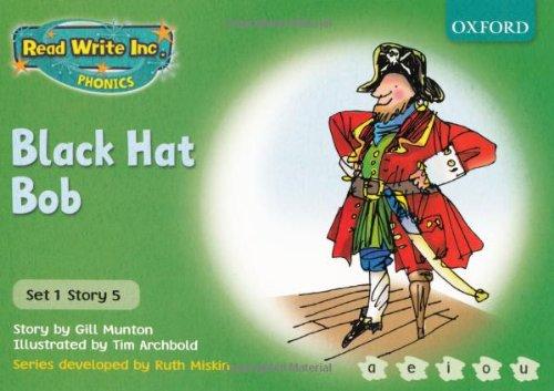 9780198461418: Read Write Inc. Phonics: Green Set 1 Storybooks: Black Hat Bob