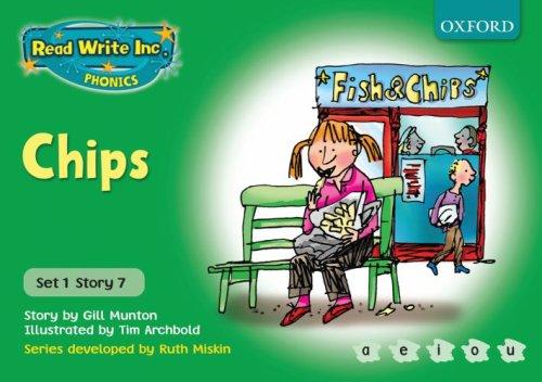 9780198461432: Read Write Inc. Phonics: Green Set 1 Storybooks: Chips