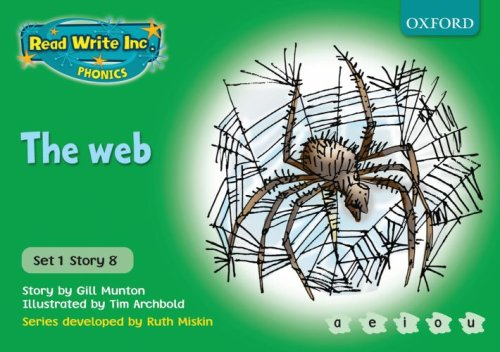 9780198461449: Read Write Inc. Phonics: Green Set 1 Storybooks: The Web