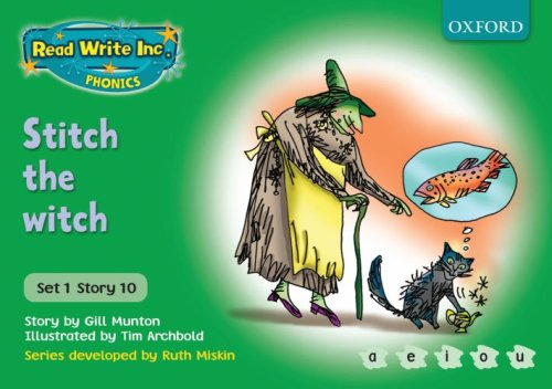 9780198461463: Read Write Inc. Phonics: Green Set 1 Storybooks: Stitch the Witch