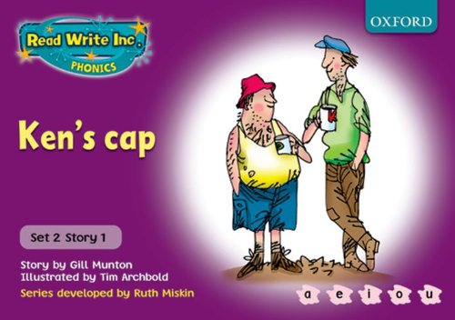 9780198461494: Read Write Inc. Phonics: Purple Set 2 Storybooks: Ken's Cap