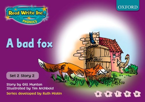 9780198461500: Read Write Inc. Phonics: Purple Set 2 Storybooks: A Bad Fox