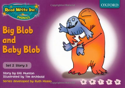 9780198461517: Read Write Inc. Phonics: Purple Set 2 Storybooks: Big Blob and Baby Blob