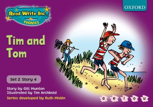 9780198461524: Read Write Inc. Phonics: Purple Set 2 Storybooks: Tim and Tom