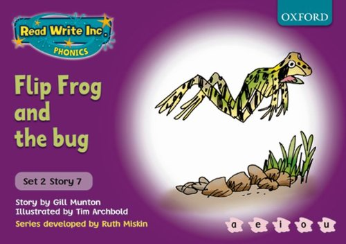 9780198461555: Read Write Inc. Phonics: Purple Set 2 Storybooks: Flip Frog and the Bug