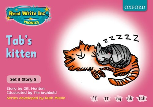 9780198461654: Read Write Inc. Phonics: Pink Set 3 Storybooks. Tab's Kitten