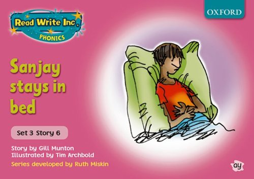 9780198461661: Read Write Inc. Phonics: Pink Set 3 Storybooks. Sanjay Stays in Bed