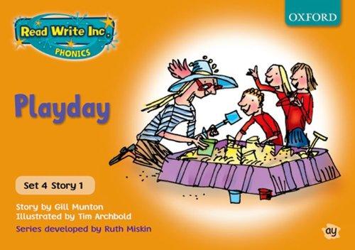9780198461739: Read Write Inc. Phonics: Orange Set 4 Storybooks: Playday