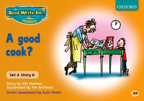 9780198461784: Read Write Inc. Phonics: Orange Set 4 Storybooks: A Good Cook?