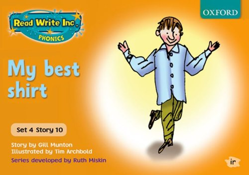 9780198461821: Read Write Inc. Phonics: Orange Set 4 Storybooks: My Best Shirt