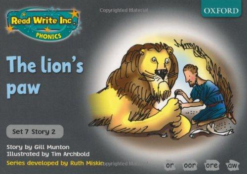 9780198462125: Read Write Inc. Phonics: Grey Set 7 Storybooks: The Lion's Paw
