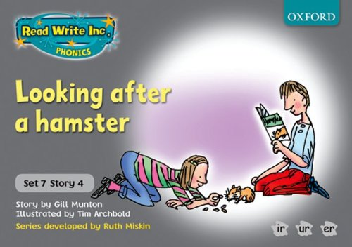 9780198462149: Read Write Inc. Phonics: Grey Set 7 Storybooks: Looking After a Hamster