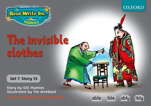 9780198462231: Read Write Inc. Phonics: Grey Set 7 Storybooks: The Invisible Clothes