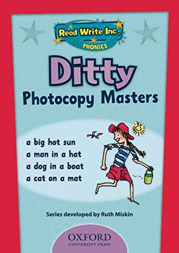 9780198462514: Read Write Inc. Phonics: Ditty Photocopy Masters