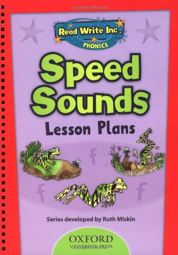 9780198462521: Read Write Inc. Phonics: Speed Sounds Lesson Plans