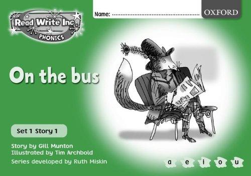 9780198462538: Read Write Inc. Phonics: Green Set 1 B/W Storybooks: Mixed Pack of 10 books