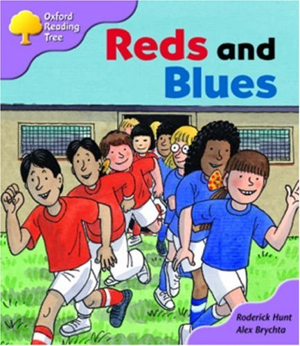 9780198463429: Oxford Reading Tree: Stage 1+: First Sentences: Reds and Blues