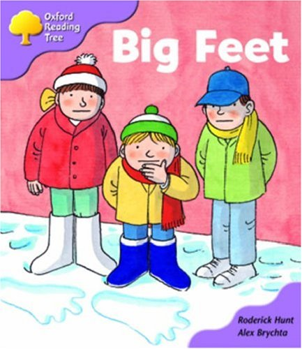 9780198463436: Oxford Reading Tree: Stage 1+: First Sentences: Big Feet