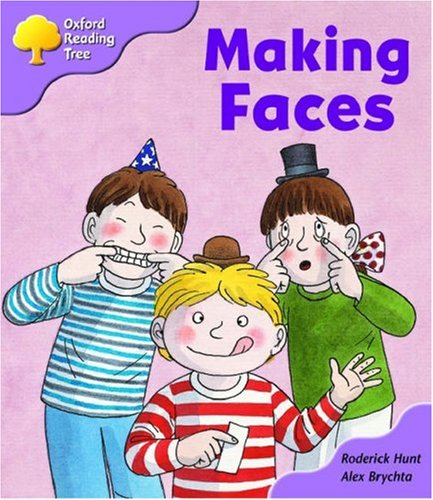 9780198463795: Oxford Reading Tree: Stage 1+: More Patterned Stories: Making Faces