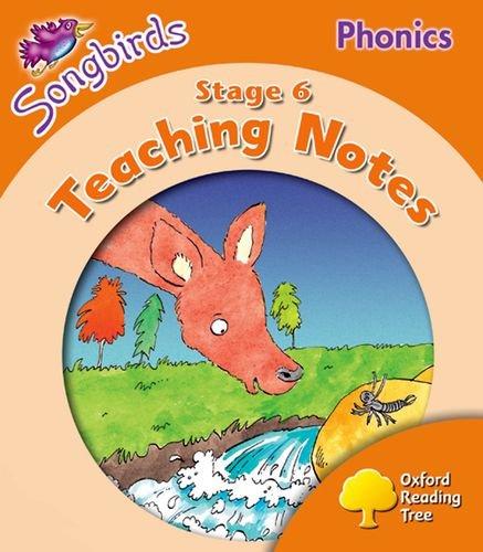9780198467052: Oxford Reading Tree: Level 6: Songbirds Phonics: Teaching Notes