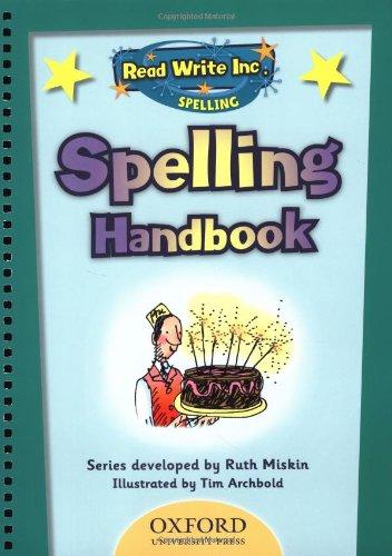 9780198467212: Read Write Inc: Spelling Teachers Handbook