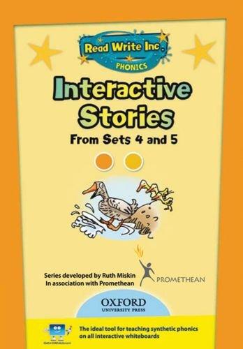 Read Write Inc. Phonics: Interactive Stories CD-ROM 2 Multi User: Ruth Miskin