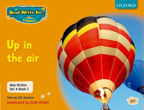 9780198468028: Read Write Inc. Phonics: Non-fiction Set 4 (orange): Up in the Air - Book 3