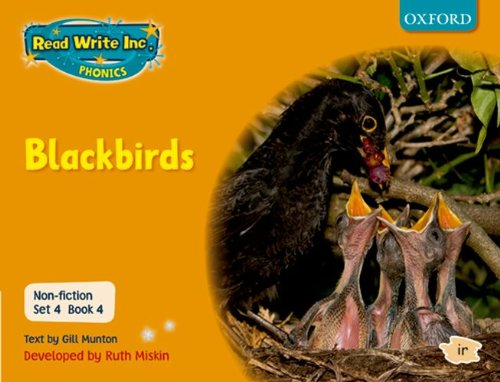 9780198468035: Read Write Inc. Phonics: Non-fiction Set 4 (orange): Blackbirds - Book 4