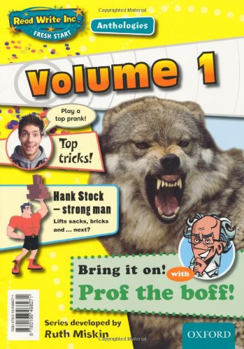 9780198468271: Read Write Inc.: Fresh Start Anthologies: Volume 1