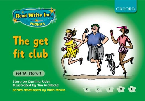 9780198468431: Read Write Inc. Phonics: Fiction Set 1A (Green): The get fit club