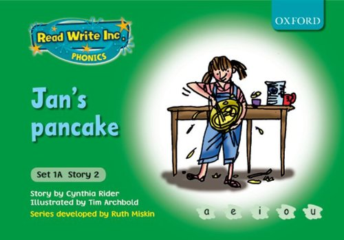 9780198468448: Read Write Inc. Phonics: Fiction Set 1A (Green): Jan's pancake
