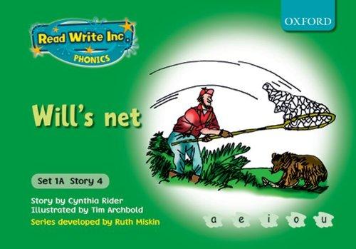 9780198468462: Read Write Inc. Phonics: Fiction Set 1A (Green): Will's net