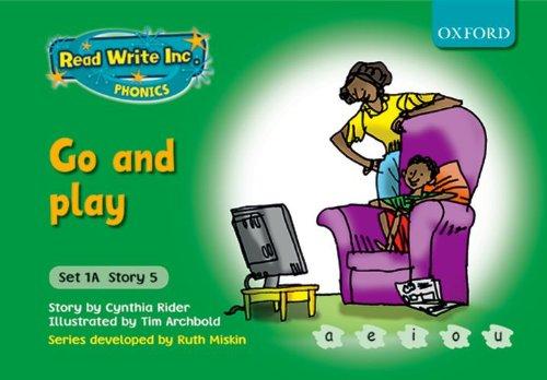9780198468479: Read Write Inc. Phonics: Fiction Set 1A (Green): Go and play
