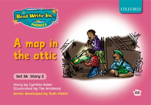 9780198468585: Read Write Inc. Phonics: Fiction Set 3A (pink): A Map in the Attic