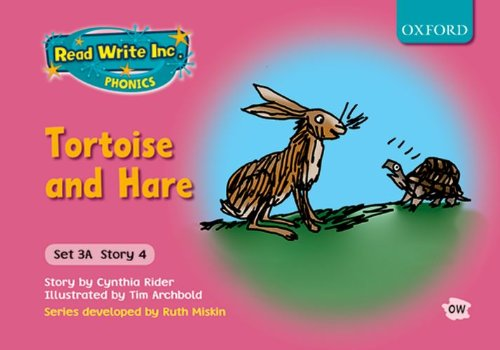 9780198468608: Read Write Inc. Phonics: Fiction Set 3A (pink): Tortoise and Hare: Set 3a, story 4