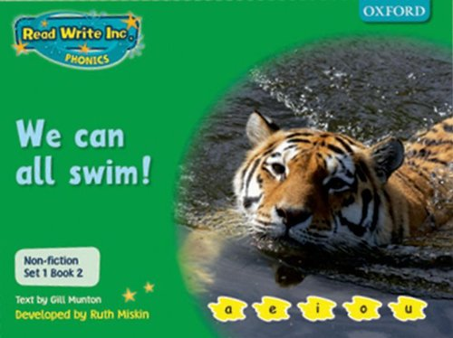 9780198469049: Read Write Inc. Phonics: Non-fiction Set 1 (Green): We Can All Swim!
