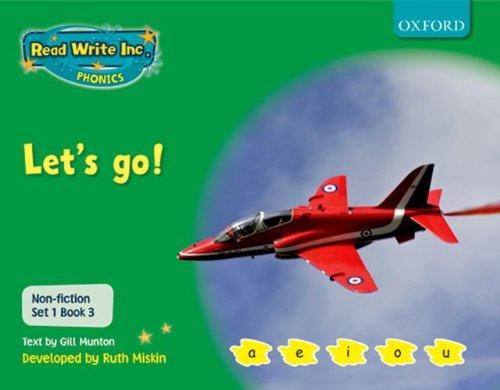9780198469056: Read Write Inc. Phonics: Non-fiction Set 1 (Green): Let's go!