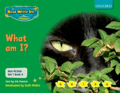 9780198469063: Read Write Inc. Phonics: Non-fiction Set 1 (Green): What am I?