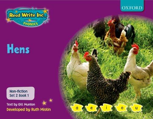 9780198469100: Read Write Inc. Phonics: Non-fiction Set 2 (Purple): Hens