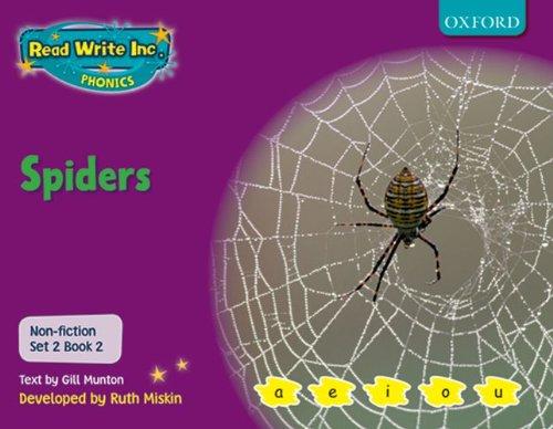 9780198469117: Read Write Inc. Phonics: Non-fiction Set 2 (Purple): Spiders